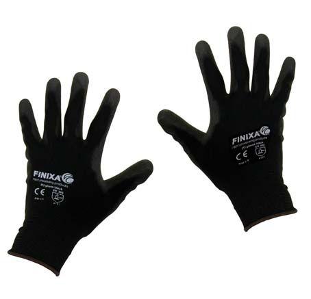 (B) PU coated handschoenen