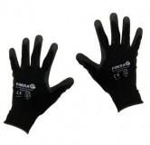 (B) Handschuh PU beschichtet
